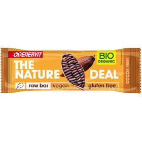Enervit Nature Deal RawBar Box 20x30g, cacao vibes